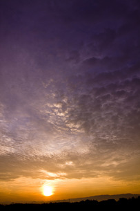 雲の道の写真素材 [FYI00335235]
