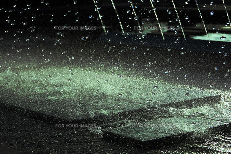 噴水しぶきの写真素材 [FYI00335241]