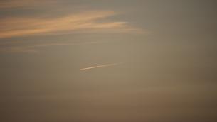 飛行機雲の写真素材 [FYI00335580]