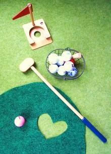 ゴルフ練習の素材 [FYI00335594]