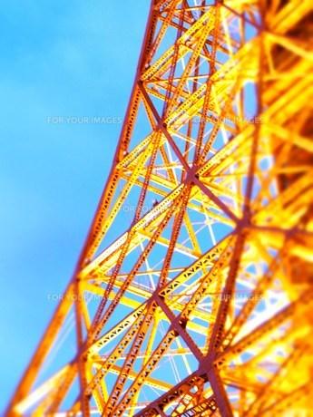 東京タワー③の素材 [FYI00335598]