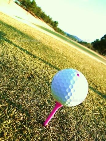 ゴルフボールの素材 [FYI00335604]