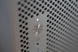 パワーボタン+LEDの写真素材 [FYI00335605]