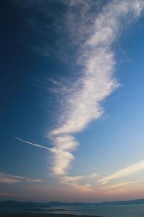 長崎空港と大村湾の写真素材 [FYI00335672]