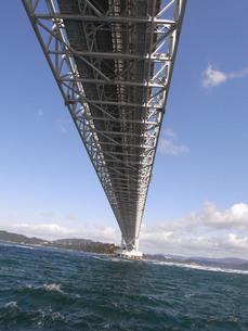 鳴門海峡大橋の写真素材 [FYI00335709]