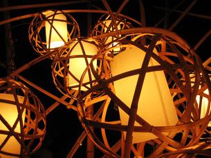 奈良燈火会の写真素材 [FYI00335712]