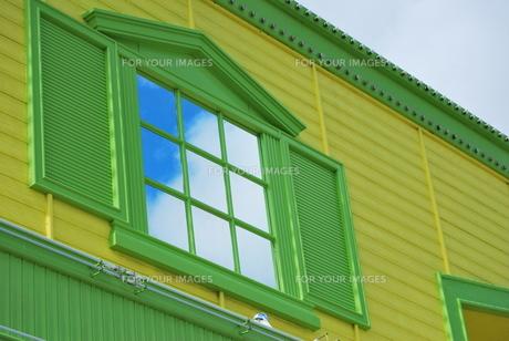 かわいい窓の写真素材 [FYI00335791]