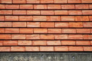 レンガ作りの屋根の写真素材 [FYI00335829]