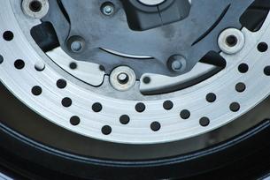 オートバイ ディスクブレーキの写真素材 [FYI00335918]