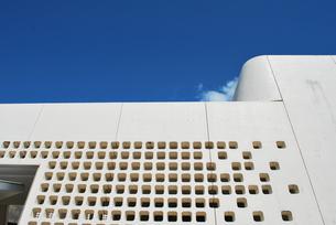 現代の城壁の写真素材 [FYI00335928]
