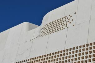 現代の城壁の写真素材 [FYI00335945]