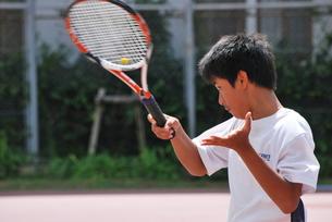 テニスプレーヤーの素材 [FYI00335960]