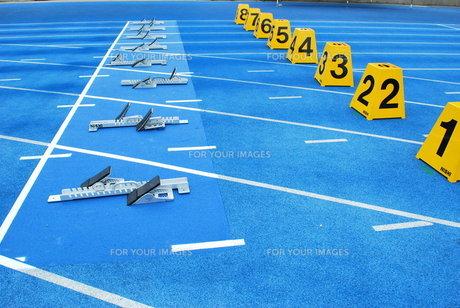 陸上競技 スターティングブロックの素材 [FYI00335967]