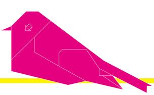 スズメ ピンクの写真素材 [FYI00335992]