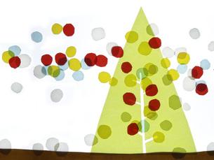 クリスマス マーブルの写真素材 [FYI00336070]