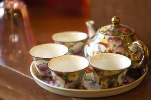 中国茶器の写真素材 [FYI00336137]