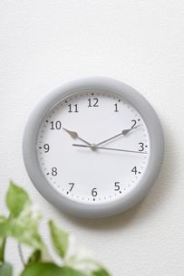 掛け時計の写真素材 [FYI00336178]