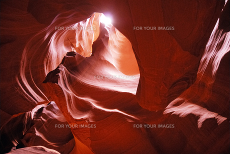 Antelope Canyonの写真素材 [FYI00336183]