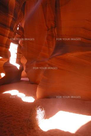 Antelope Canyonの写真素材 [FYI00336197]