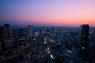 梅田の超高層ビル群の写真素材 [FYI00336304]