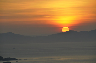 瀬戸内海の落日の素材 [FYI00336403]