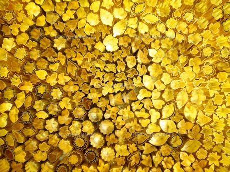 黄金の抜型の写真素材 [FYI00336520]