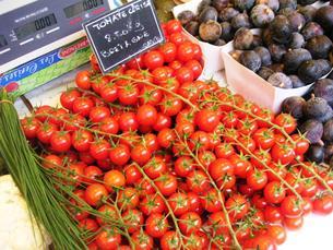 市場のミニトマトの写真素材 [FYI00336536]
