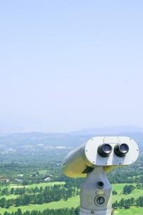 山頂から下界を望むの写真素材 [FYI00336621]