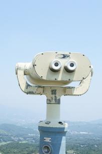 山頂から下界を望むの写真素材 [FYI00336624]