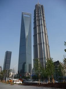 上海の高層ビルの写真素材 [FYI00336662]