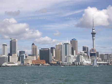 ニュージーランドのオフィス街の写真素材 [FYI00336672]