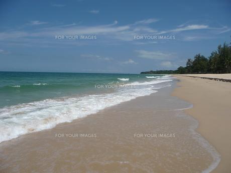 デサル海岸の写真素材 [FYI00336679]