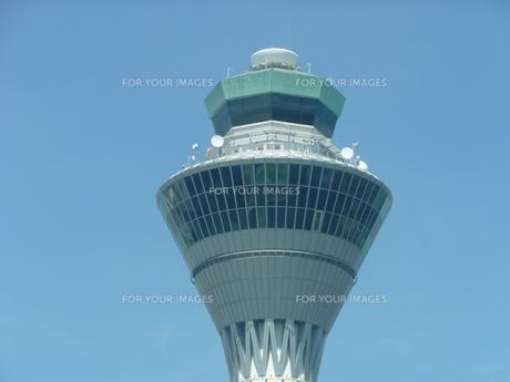 管制塔の写真素材 [FYI00336685]