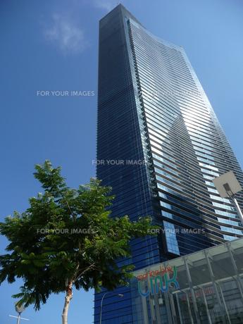 シンガポールの高層ビルの写真素材 [FYI00336686]