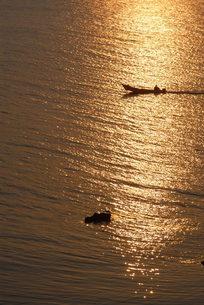天売島の朝の写真素材 [FYI00336691]