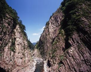 清津峡の夏の写真素材 [FYI00336799]