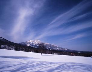 黒姫牧場冬景色の素材 [FYI00336838]
