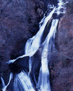 初冬の霧降ノ滝の写真素材 [FYI00336849]