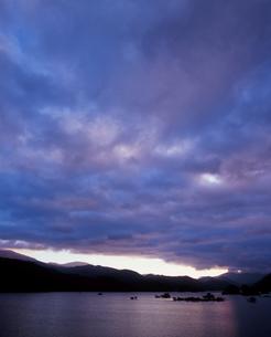青い雲の写真素材 [FYI00336928]