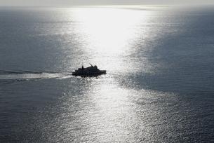 オホーツク海遊覧船の写真素材 [FYI00336993]