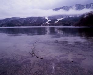 春の青木湖の素材 [FYI00337083]