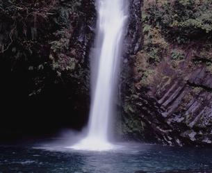 浄蓮の滝滝壺の写真素材 [FYI00337140]