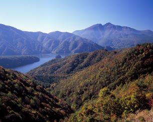 秋の三湖台の写真素材 [FYI00337235]
