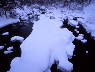 雪河原の写真素材 [FYI00337568]