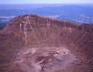 韓国岳火口の写真素材 [FYI00337697]