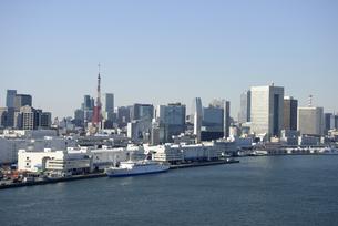 東京芝浦の情景の写真素材 [FYI00338159]