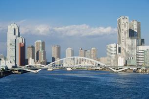 築地大橋の写真素材 [FYI00338521]