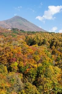 錦秋の磐梯山の写真素材 [FYI00338690]