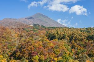 錦秋の磐梯山の写真素材 [FYI00338723]