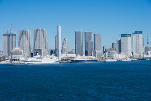 初冬の東京晴海埠頭の写真素材 [FYI00338786]